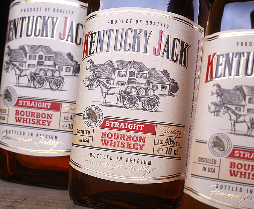 Bourbon design - Kentucky Jack