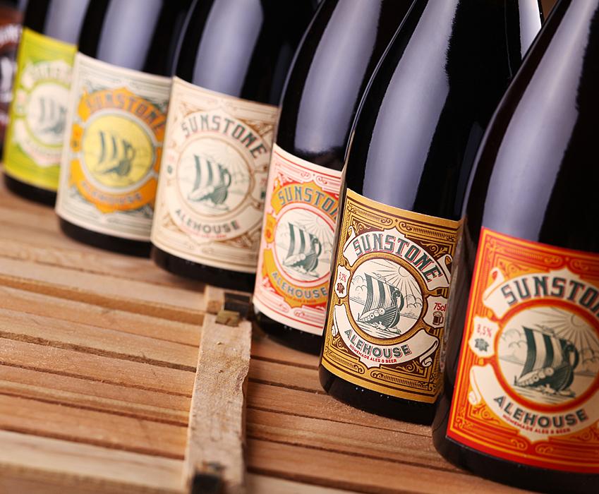 Beer label design - Sunstone Alehouse