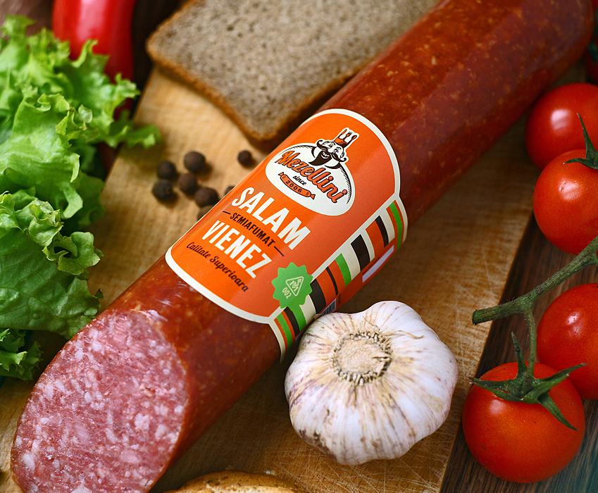 """Ребрендинг """"Mezellini"""" – компании по производству мясных продуктов"""
