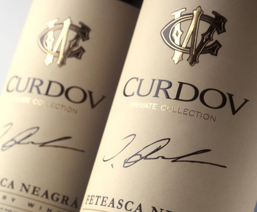 TM and label design for Curdov wine