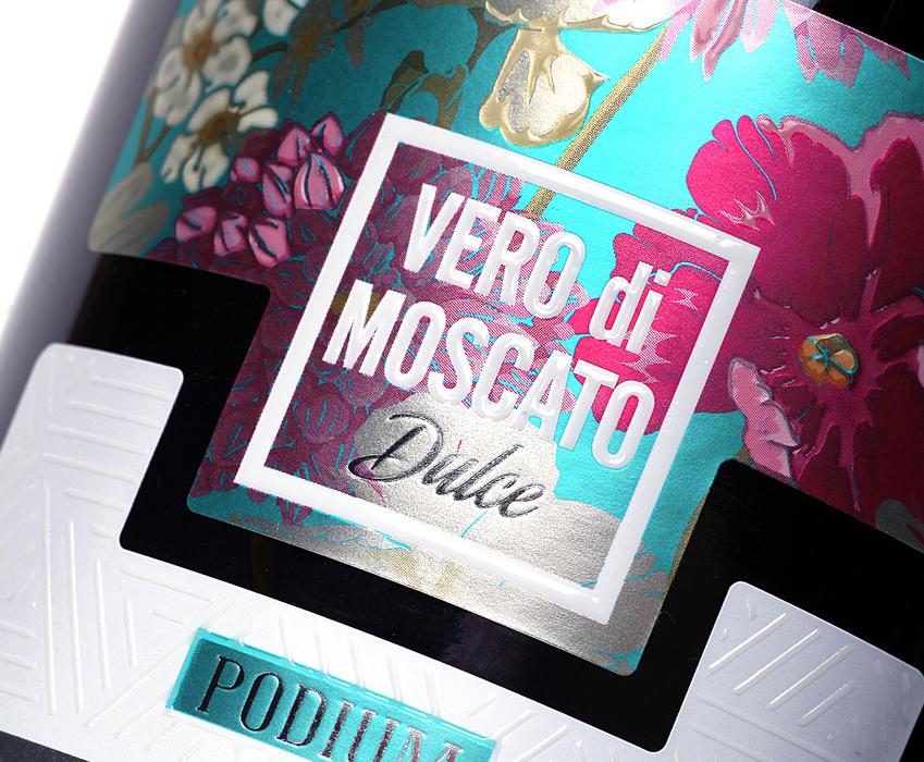Champagne design - Vero Di Moscato