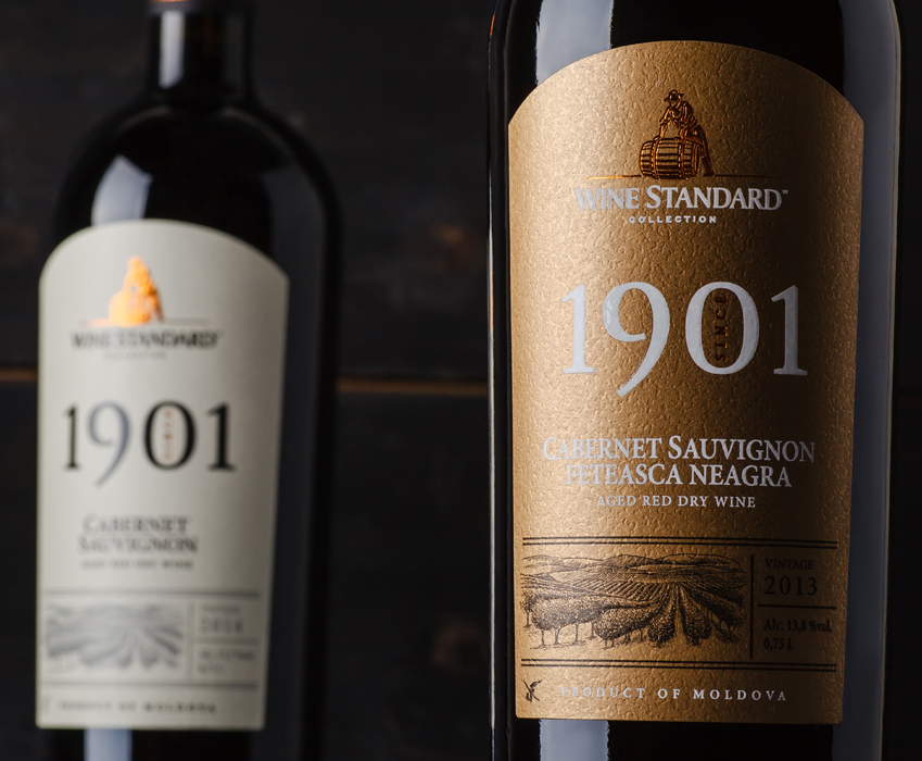 TM and wine label design of