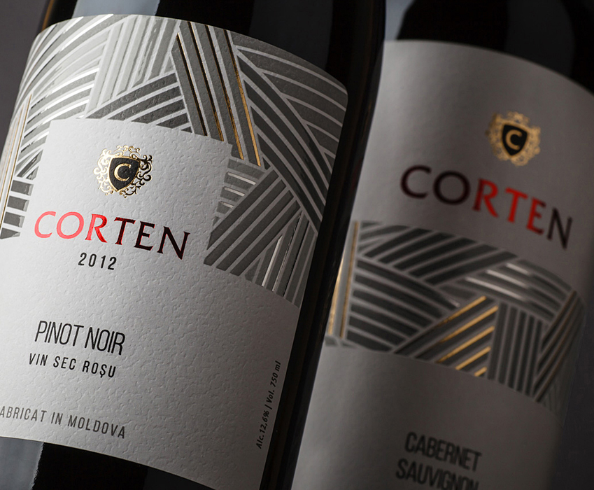 TM and label design for sorted wines