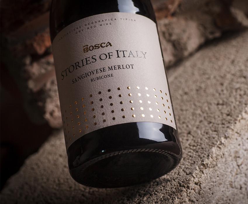 Wine label design - Bosca