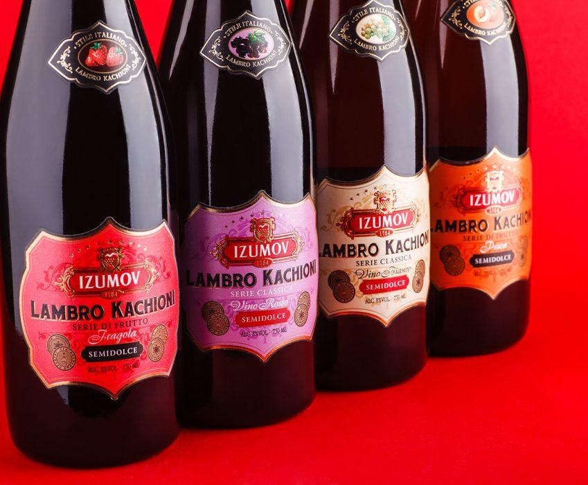 Sparkling Wine Packaging Design - Lambro Kachioni