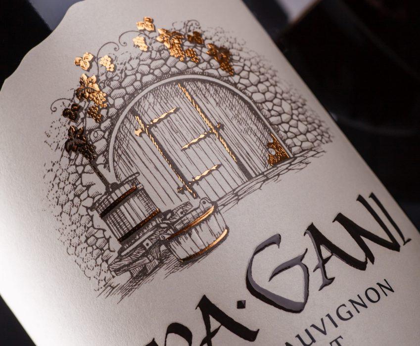 Wine Label Design - KaraGani