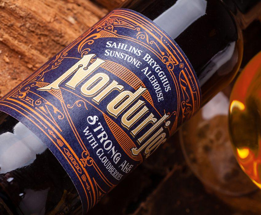Craft Beer Label Design - Nordurljos