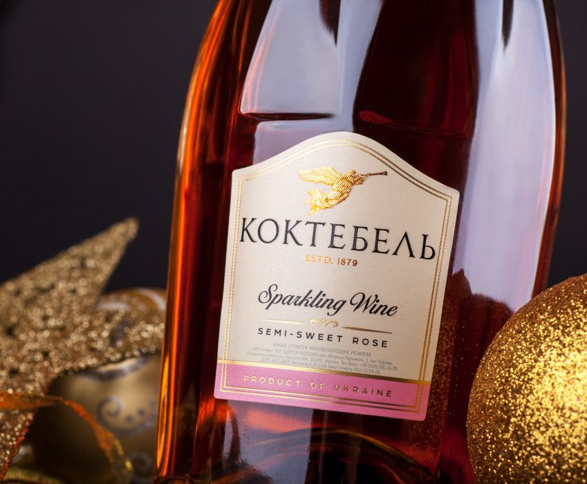 Sparkling Wine Packaging Design - Koktebel