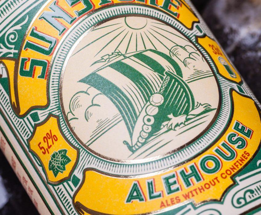 Craft Beer Label Redesign - Sunstone Alehouse
