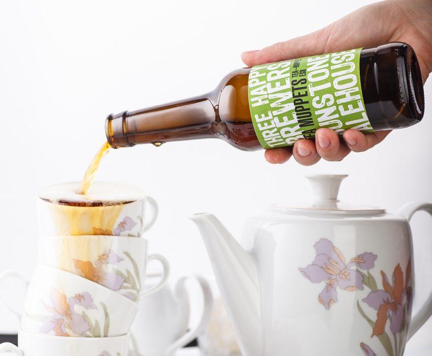 Collaboration Craft Beer Label - Tea Muppets