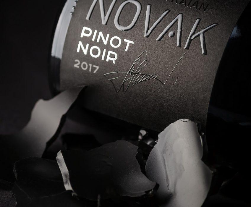 Дизайн Этикетки Лимитированных Вин - Novak Pinot Noir