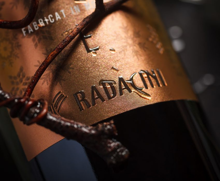 Exclusive Wine Label Design - Radacini Icewine