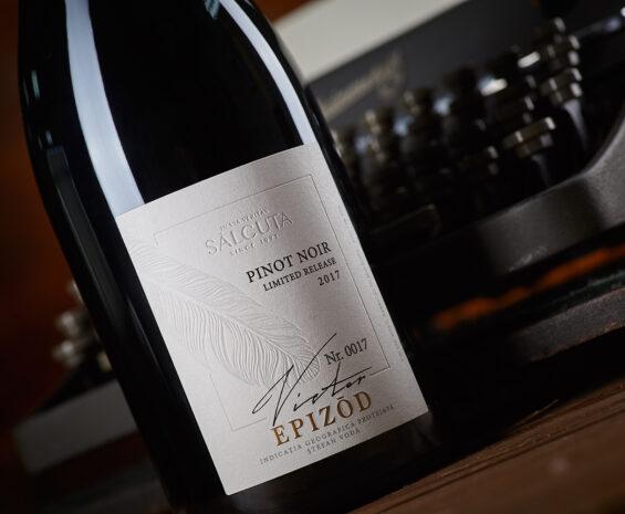 2108Authentic Wine Label Design – Crama Tudor