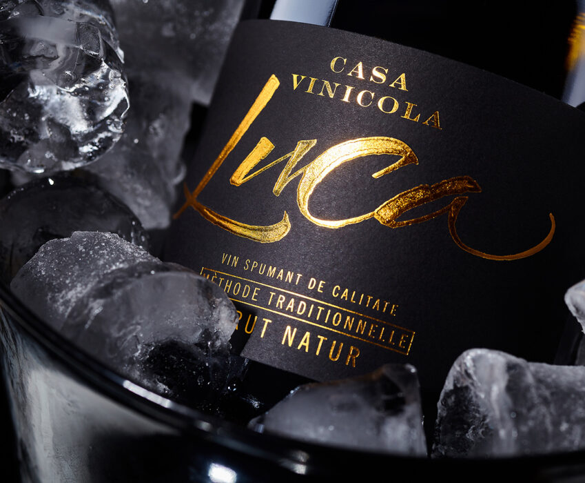 Brand and Label Design - Casa Vinicola Luca