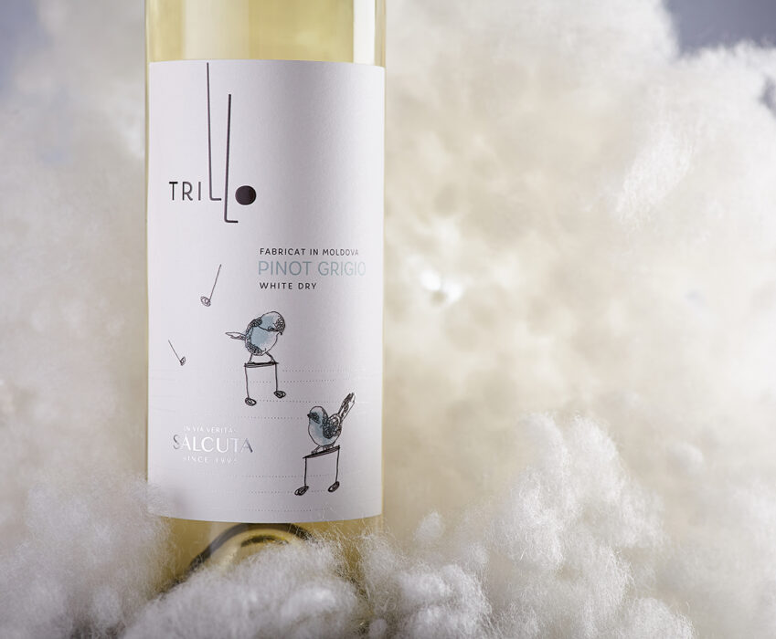 Young Wine Label Design - Trillo