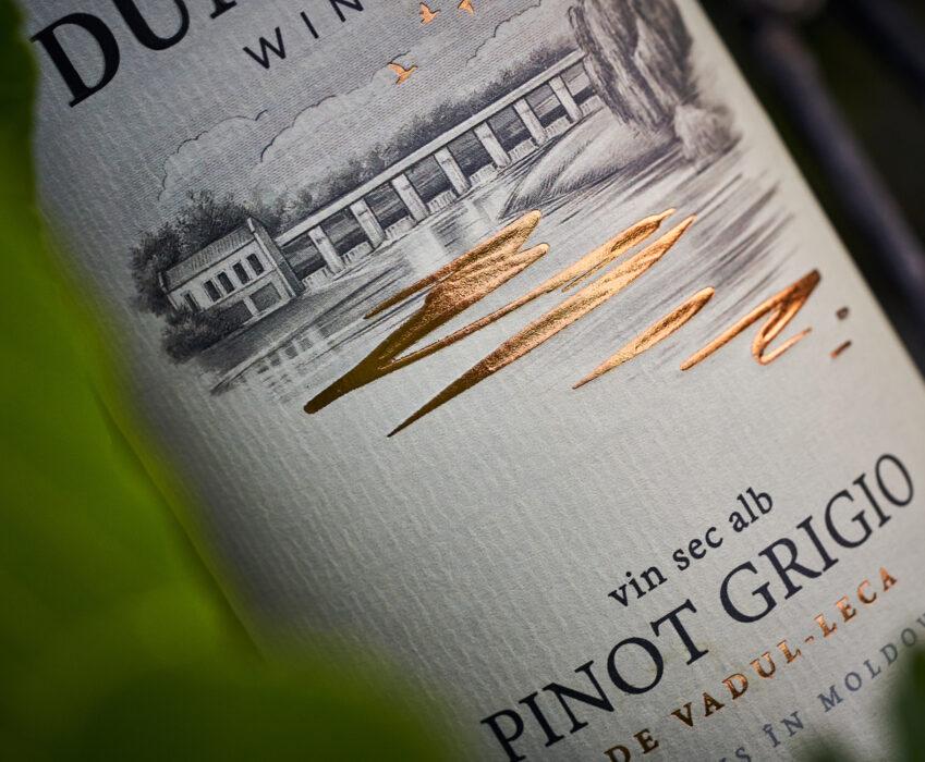 Wine Label Redesign - Dumitras Winery