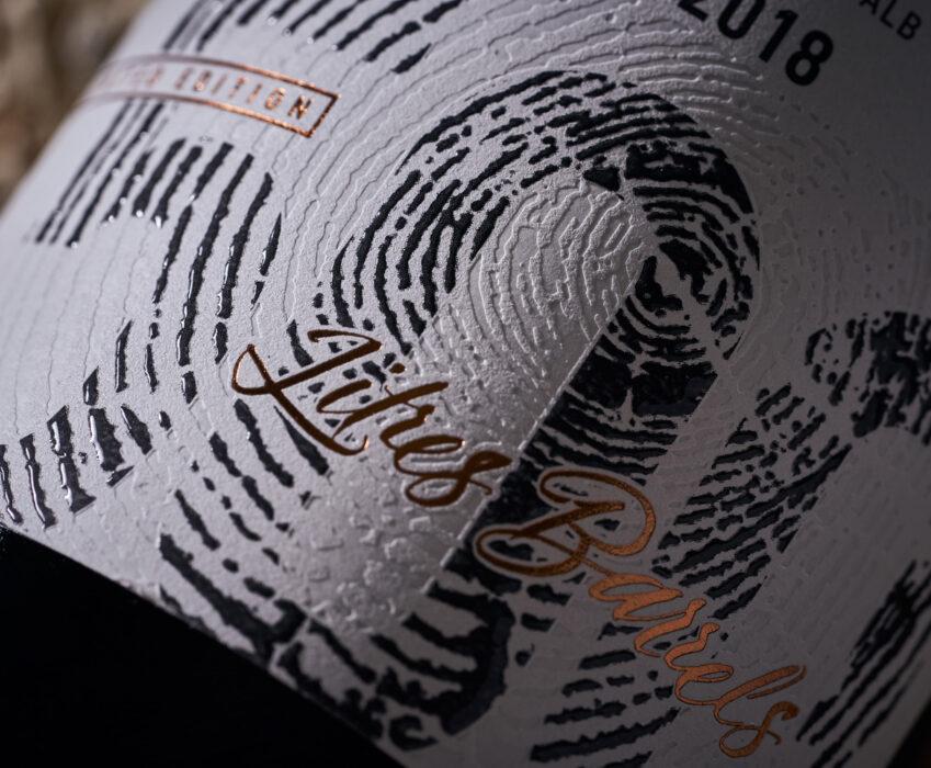 Limited Wine Label Design - Novak 500