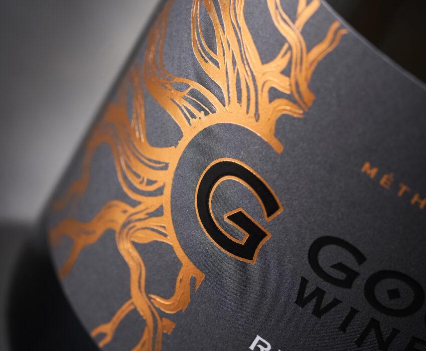 Дизайн Этикетки Игристого Вина - Gogu Winery