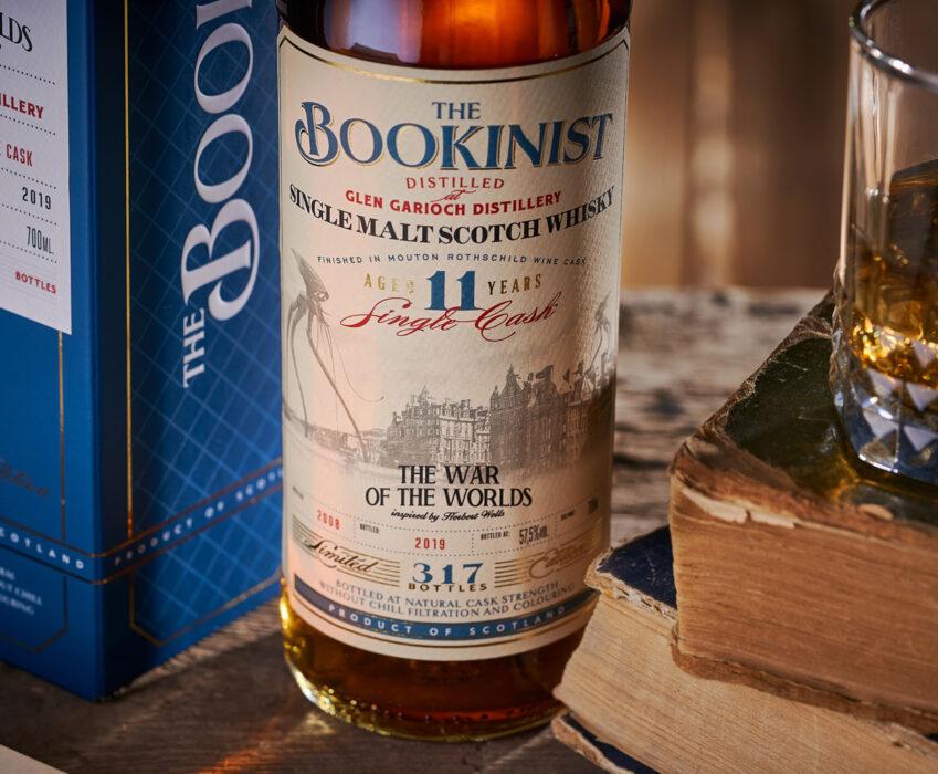 Дизайн Этикетки Коллекционного Виски - The Bookinist