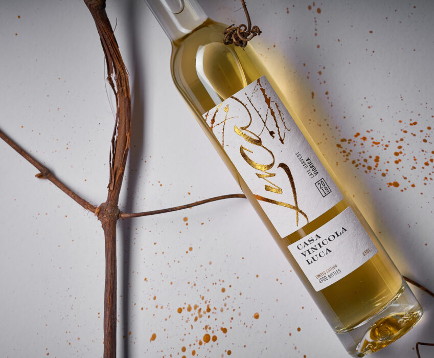 Late Harvest Wine Label Design - Luca Late Harvest