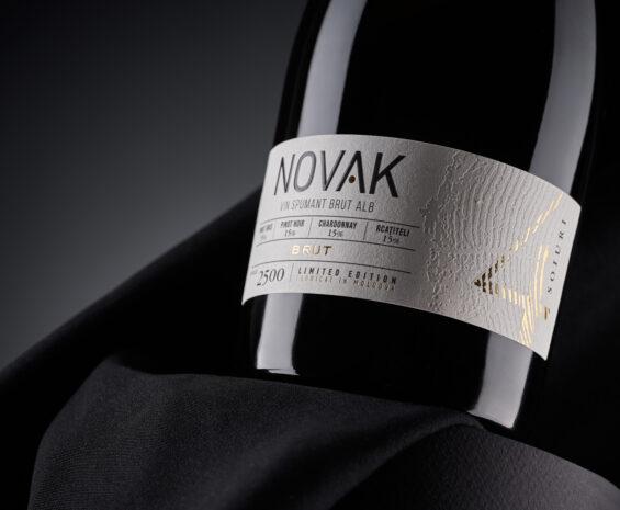 Sparkling Wine Label Design - Novak Spumant