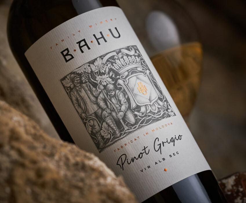Дизайн Винной Этикетки - Bahu Winery