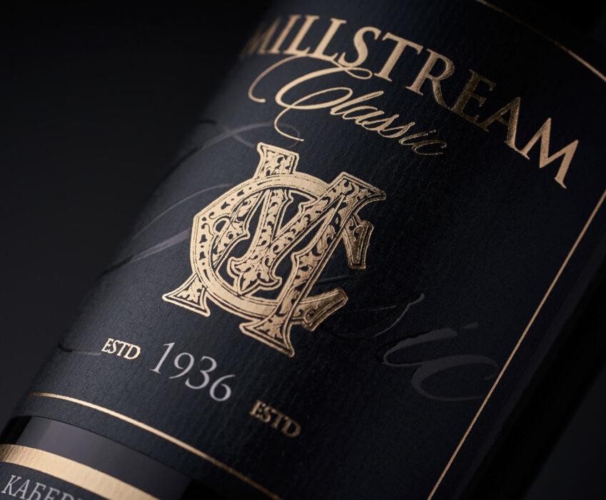 Wine Label Design Collection - Millstream